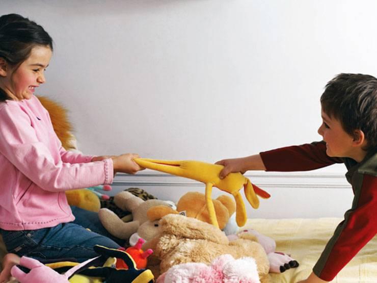 Ребенок отбирает игрушки. что с этим делать?