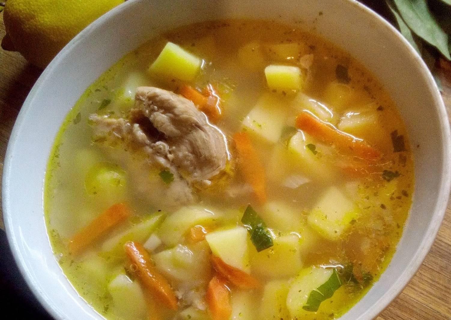 Суп для детей раннего возраста