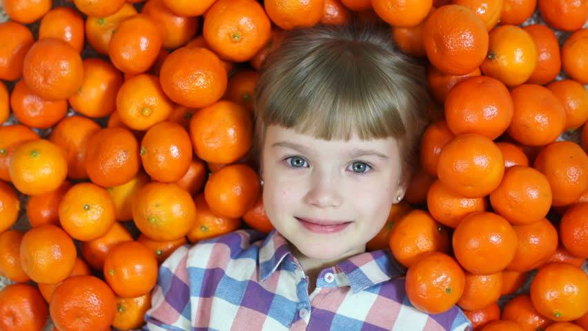 Можно ли детям мандарины, с какого возраста