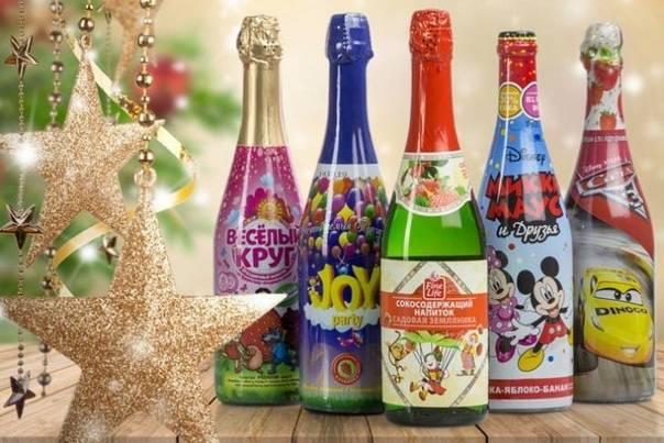 Детское шампанское: 5 причин, почему его нельзя давать детям