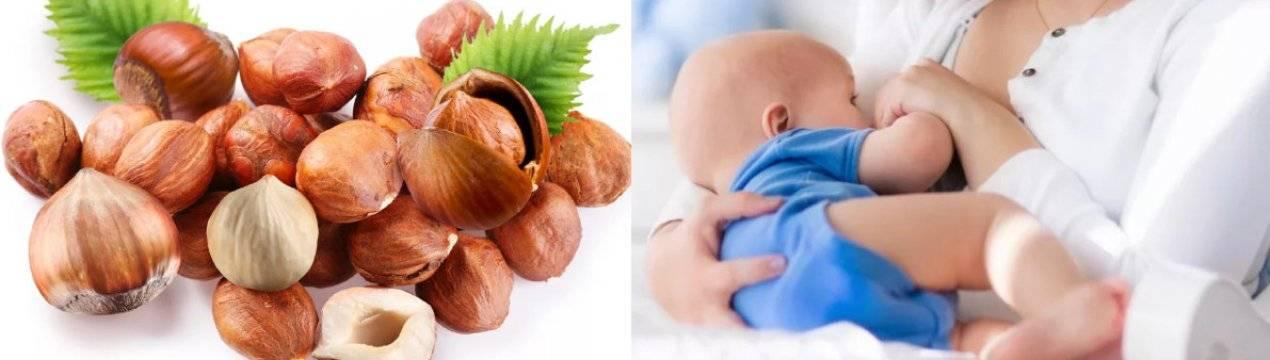 Какие орехи и в каком количестве можно есть при грудном вскармливании | идеальная я