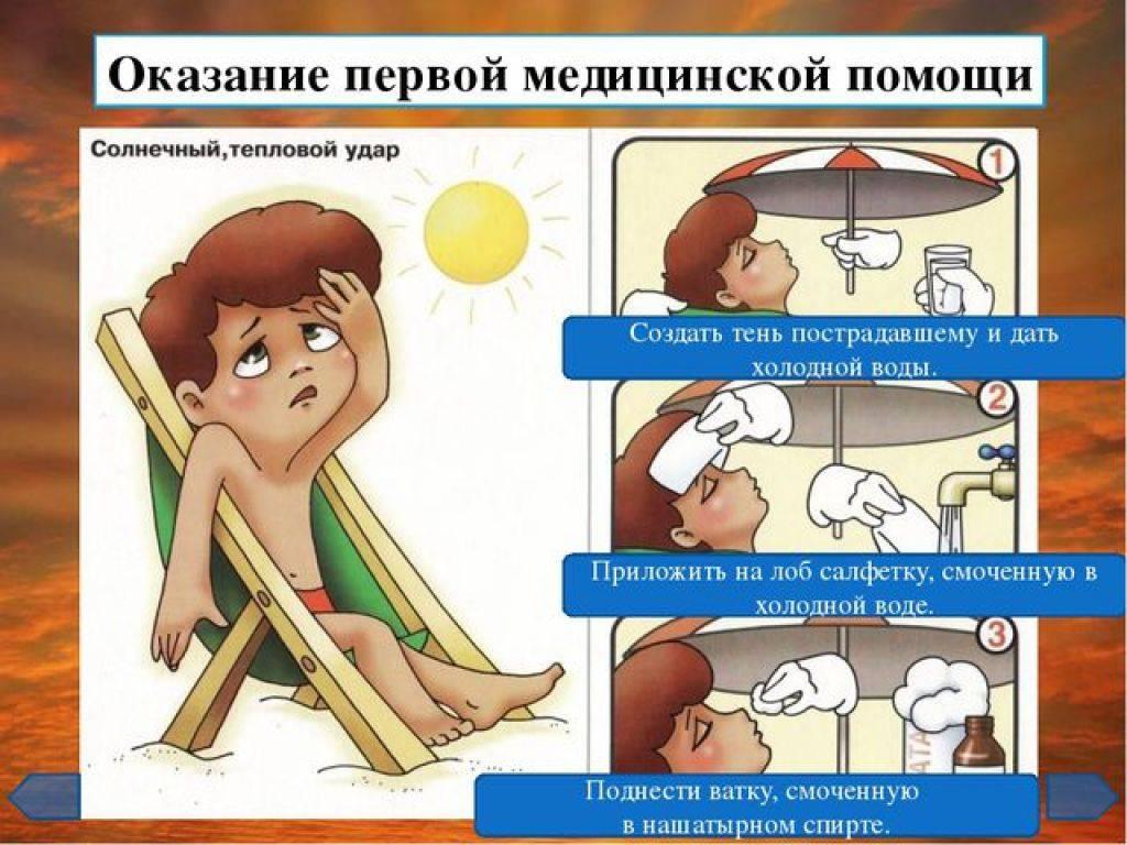 Тепловой удар у ребенка: симптомы, первая помощь и профилактика