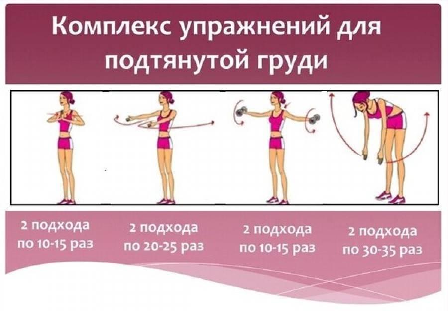 Как восстановить грудь после гв