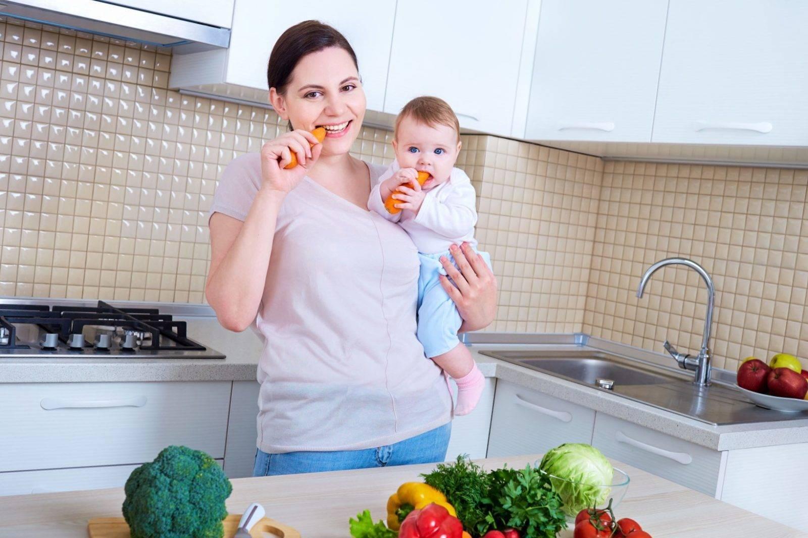 Новогоднее меню для кормящей мамы новорожденного