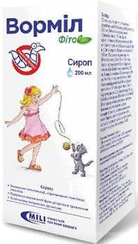 Вормил Фито для лечения глистов у детей