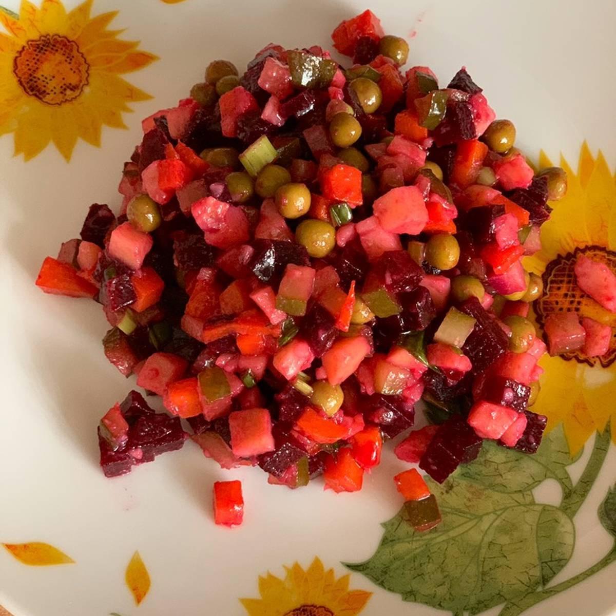 Можно ли кормящей маме кушать винегрет