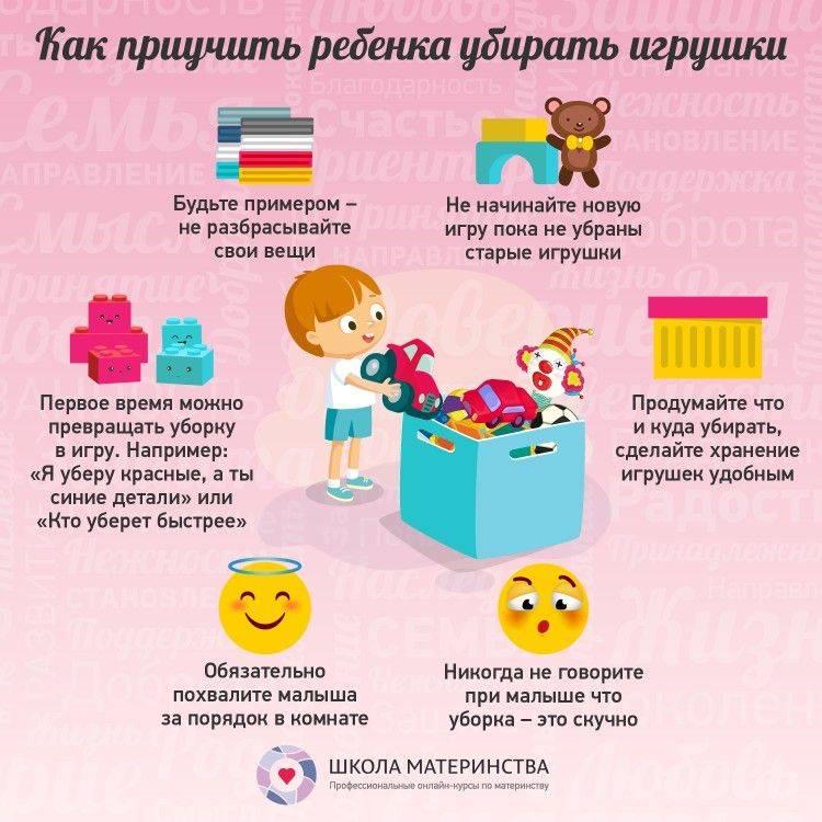 Ребенок не хочет убирать за собой игрушки: что делать и как научить?