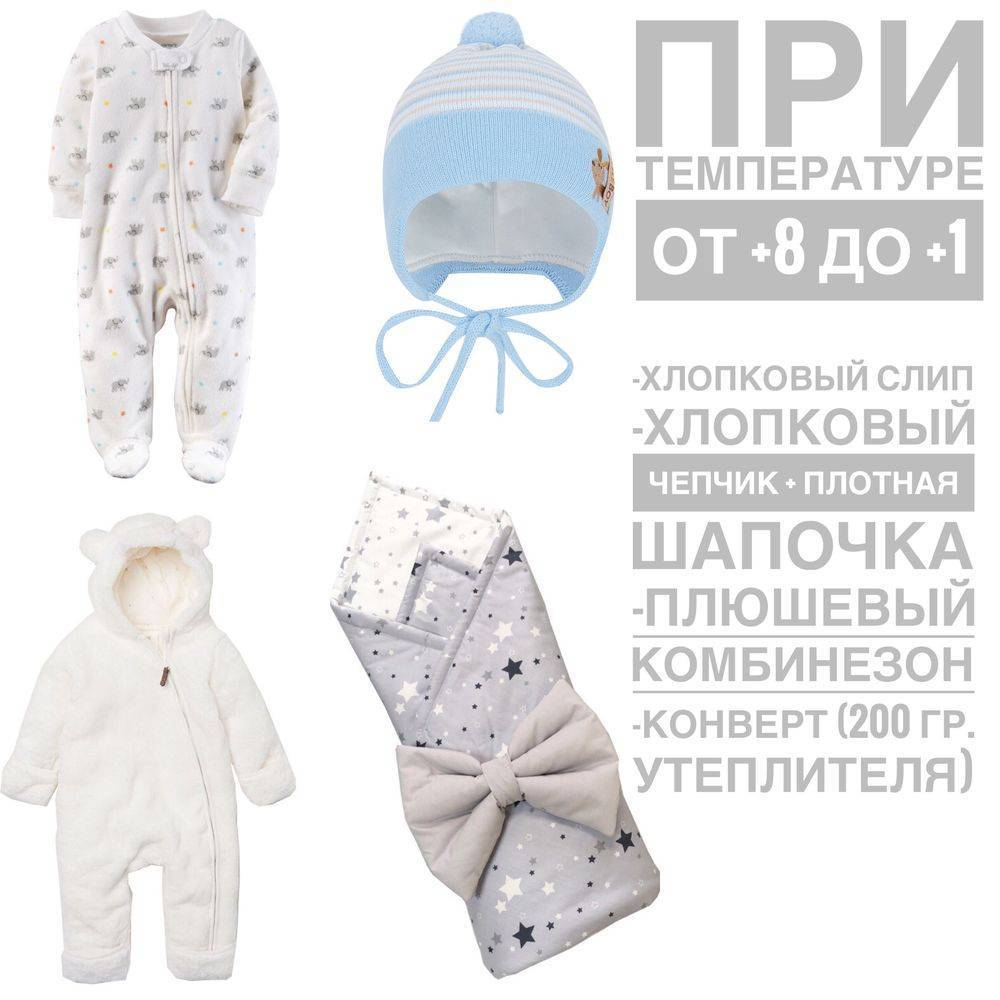 Как одевать новорожденного в мае на прогулку?