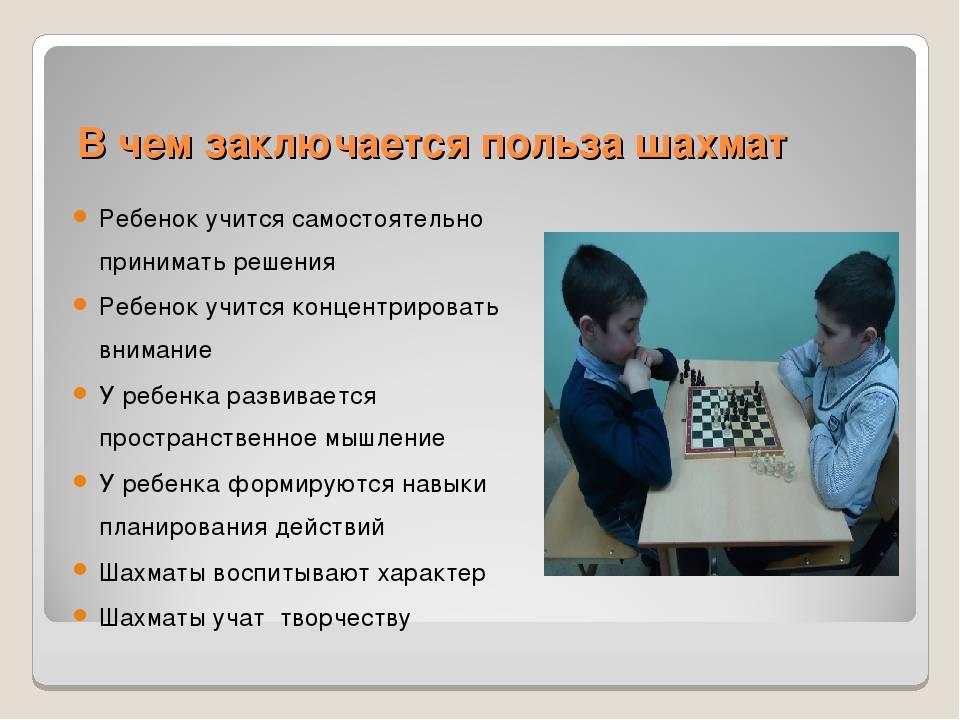 Польза шахмат для детей | возможен ли вред от игры в шахматы