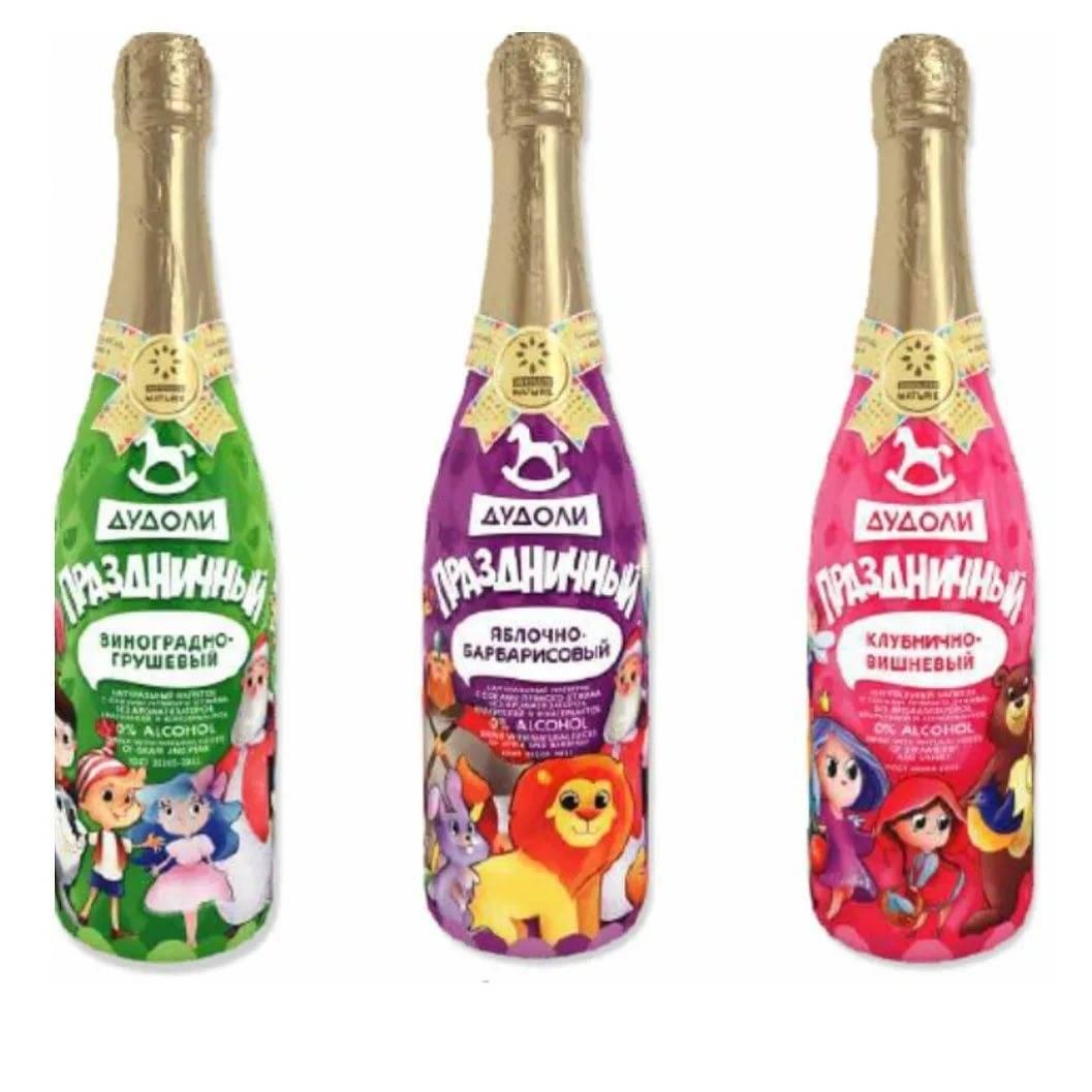 Детское шампанское: польза и вред, виды и их описание, состав