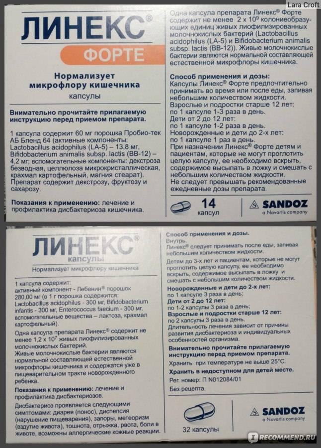 Линекс® (linex®)