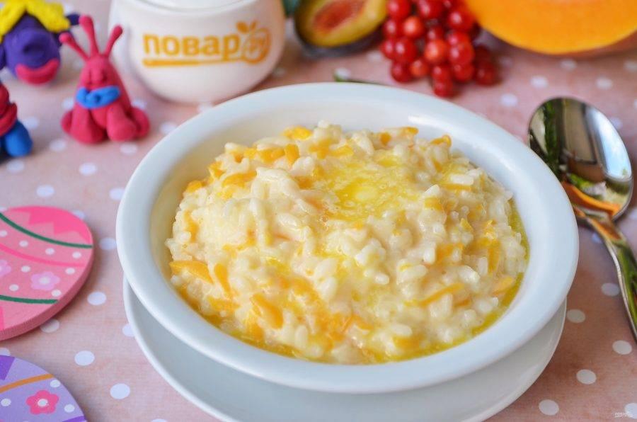 Рисовая каша для грудничка: первый прикорм, рецепт