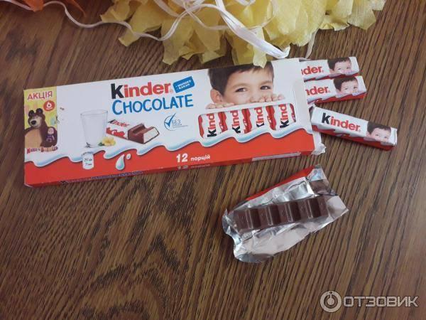 Киндер шоколад — вся правда об известной шоколадке