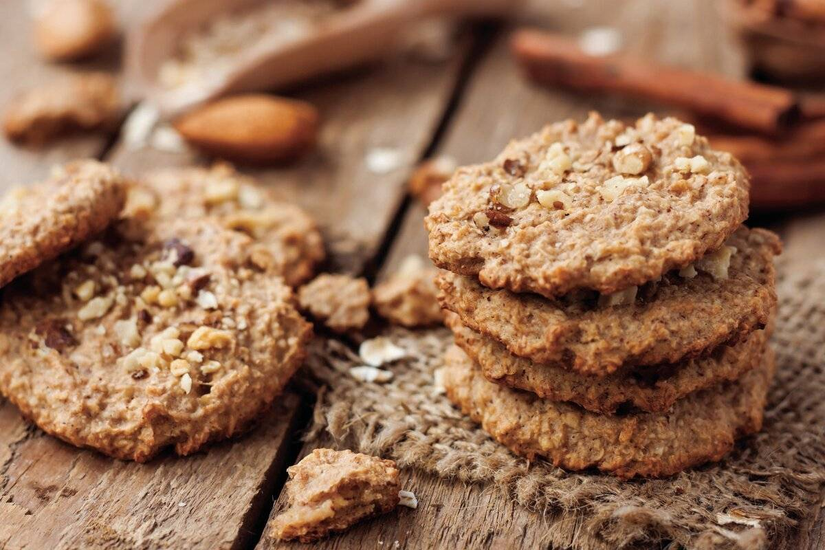 Печенье со злаками при грудном вскармливании - мамины новости