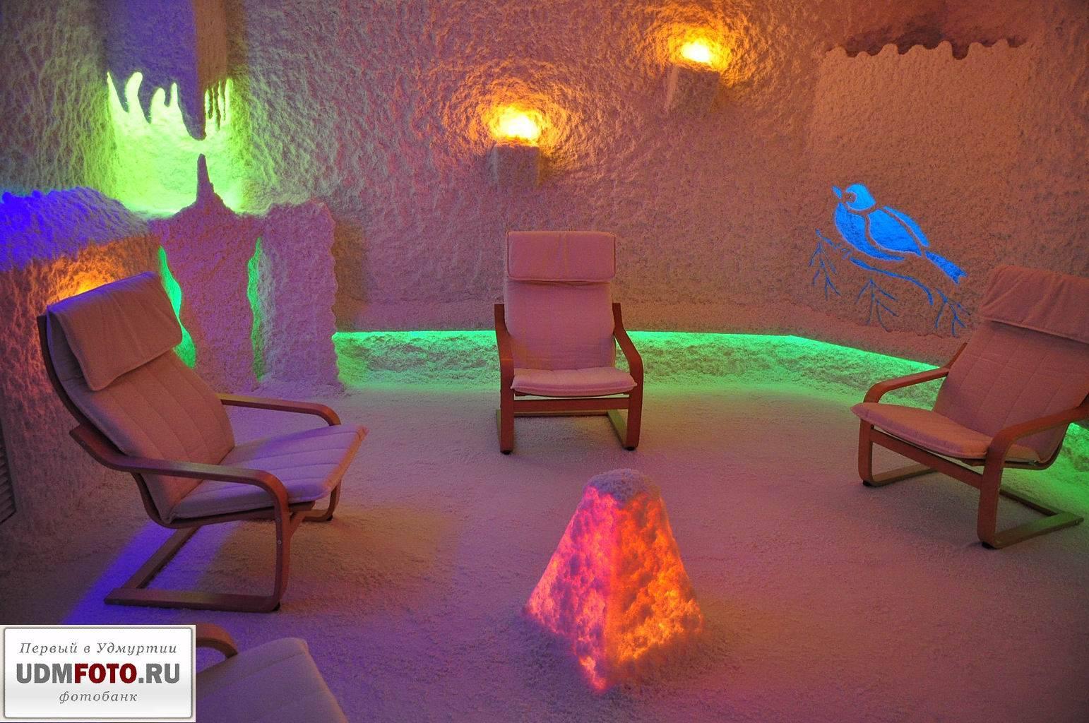 Соляная комната (галотерапия)