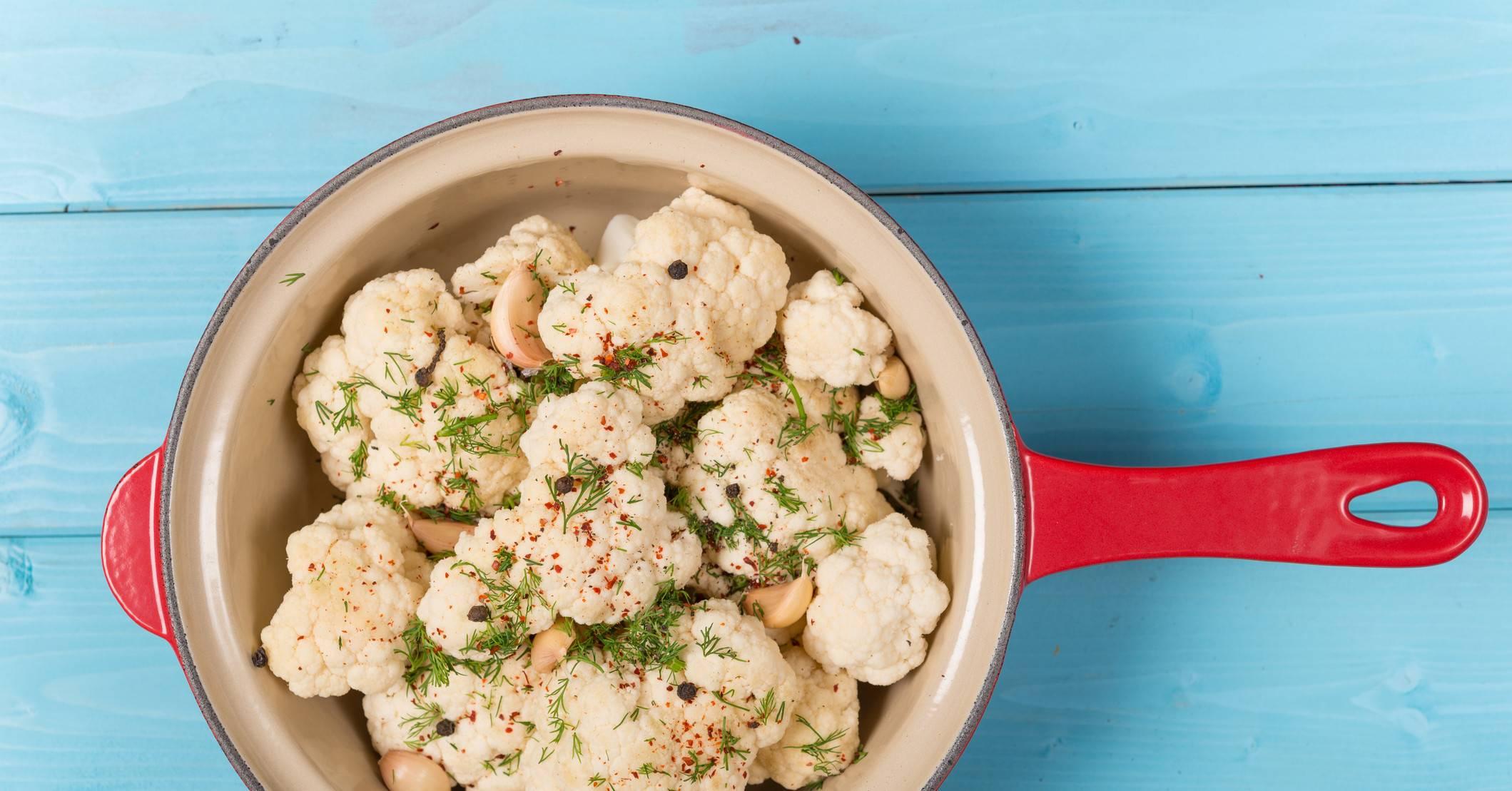 Пюре из цветной капусты для грудничка: рецепт