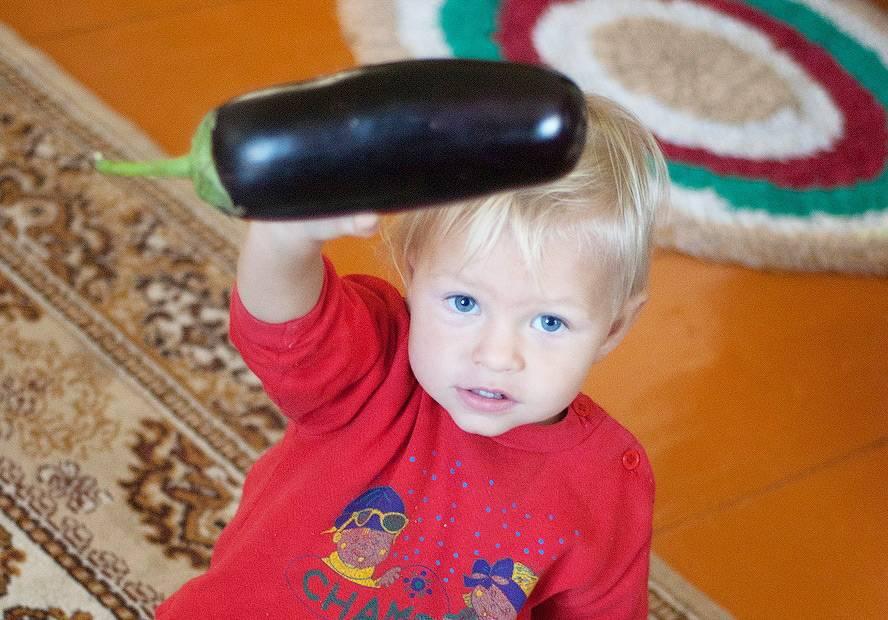 С какого возраста можно давать ребенку баклажаны, как приготовить