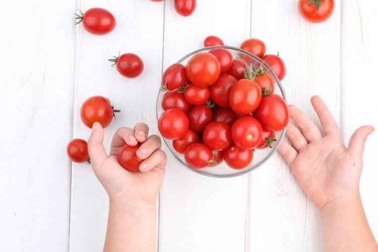 Можно ли есть помидоры при грудном вскармливании новорожденного?