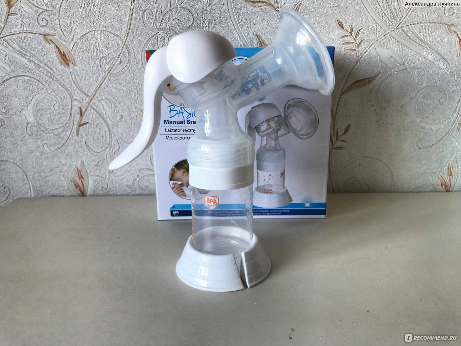Как правильно пользоваться и собрать ручной молокоотсос, зачем он нужен
