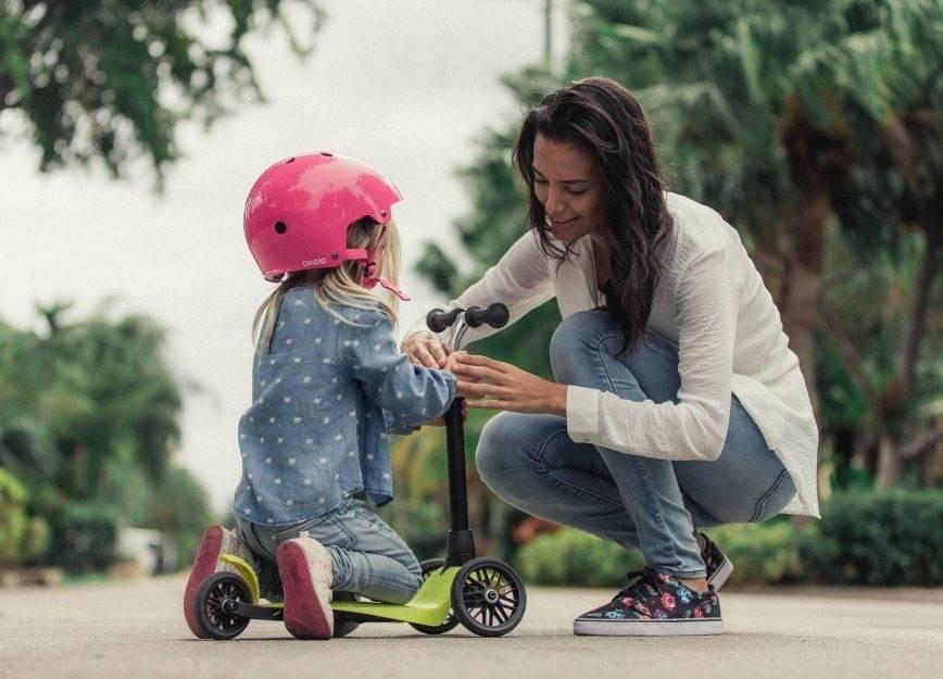Как научить ребенка кататься на велосипеде, самокате, роликах и коньках | super.ua