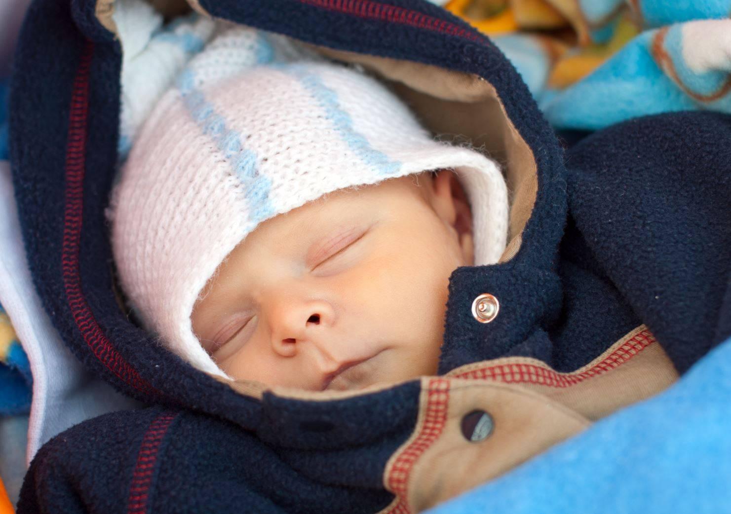 Капли в нос для новорожденных