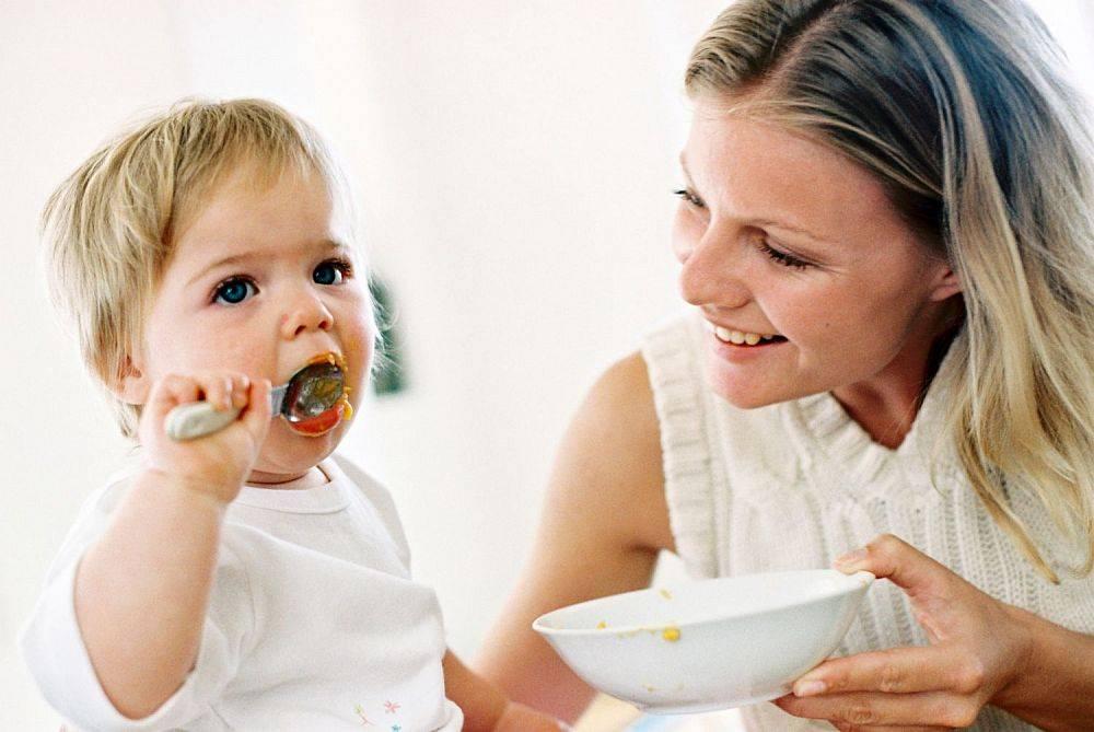 Годовалый ребенок не ест творог