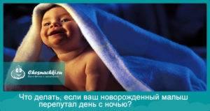 Новорожденный перепутал день с ночью: что делать родителям, советы доктора комаровского