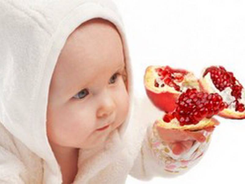 Можно ли давать ребенку гранат и гранатовый сок – в каком возрасте
