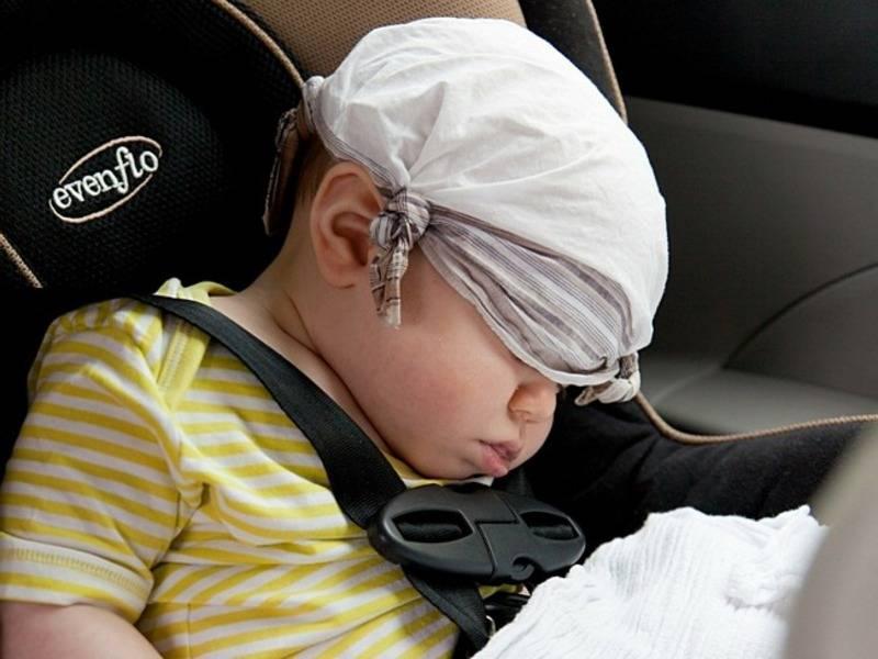 Детское укачивание - причины, симптомы, средства от укачивания