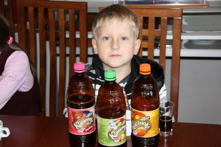 Можно ли детям до 3 лет пить квас?