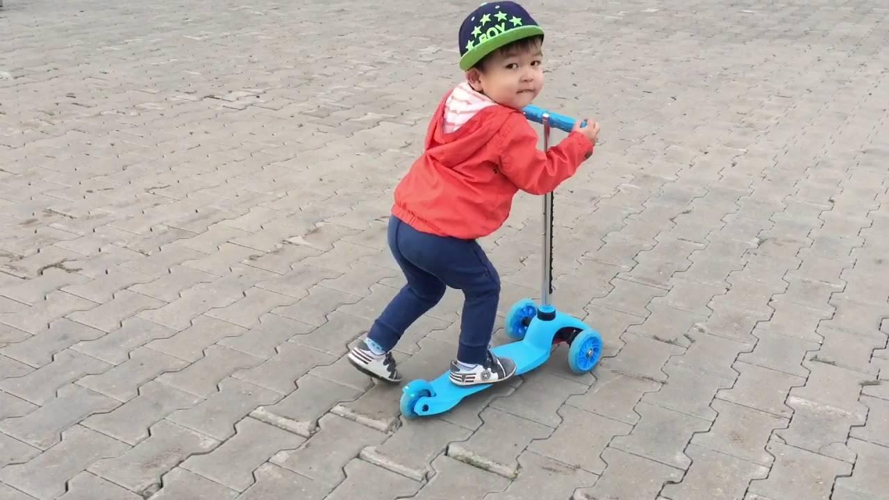 Как обучить ребенка езде на скейтборде