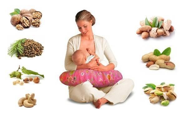 Миндаль при грудном вскармливании: польза и вред
