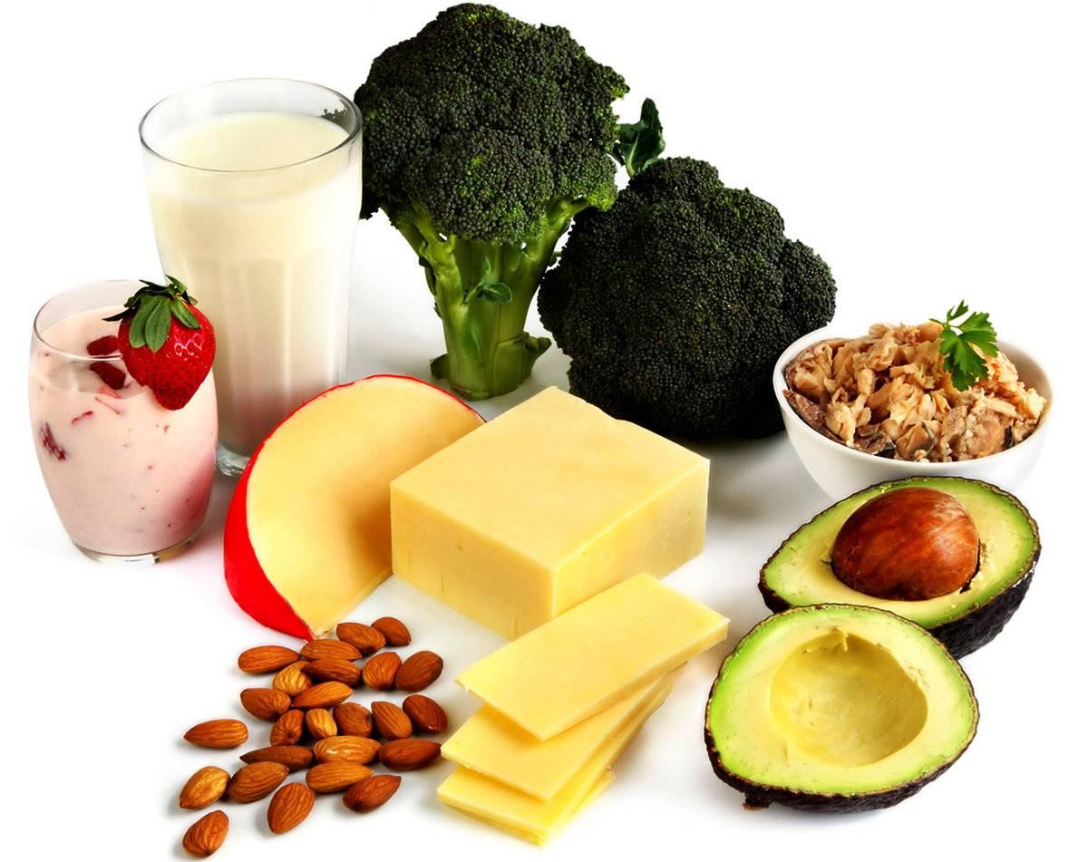В каких продуктах содержится кальций в большом количестве: таблица и дозировка
