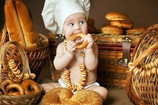 Хлеб ребенку самый полезный хлеб