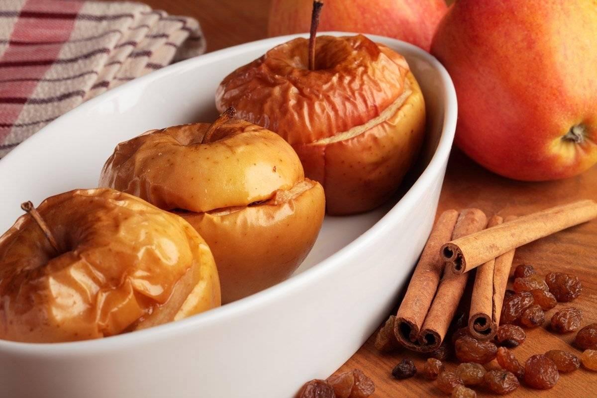 Яблоки запеченные с мёдом в духовке, рецепт с фото — wowcook.net