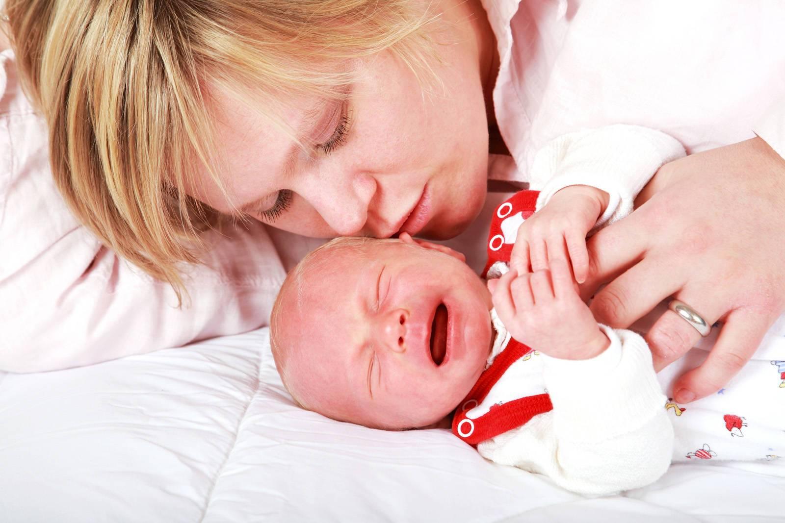 Почему грудной ребенок плачет?   компетентно о здоровье на ilive