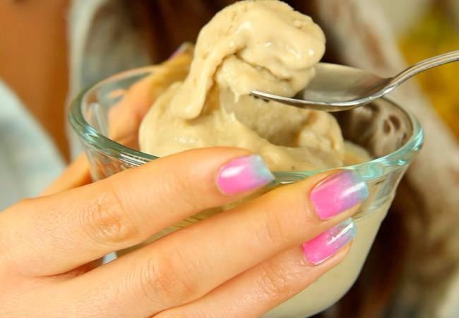 Шоколадное мороженое для кормящей мамы при гв