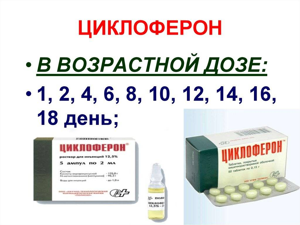 Циклоферон® (cycloferon®)