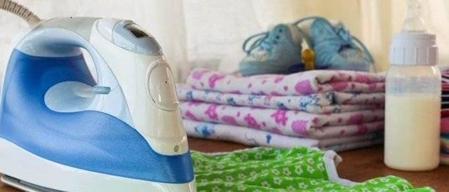 Зачем гладить детские вещи, как гладить вещи для новорожденных