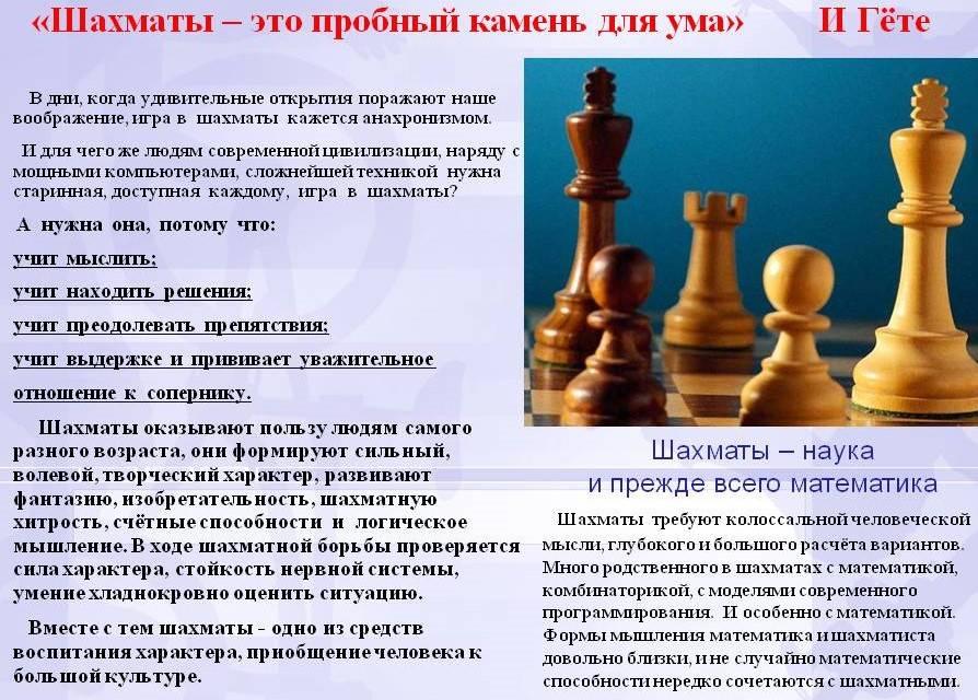 Шахматы для детей: с какого возраста и какая польза