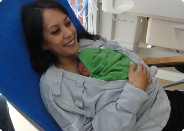 Метод кенгуру для недоношенных детей