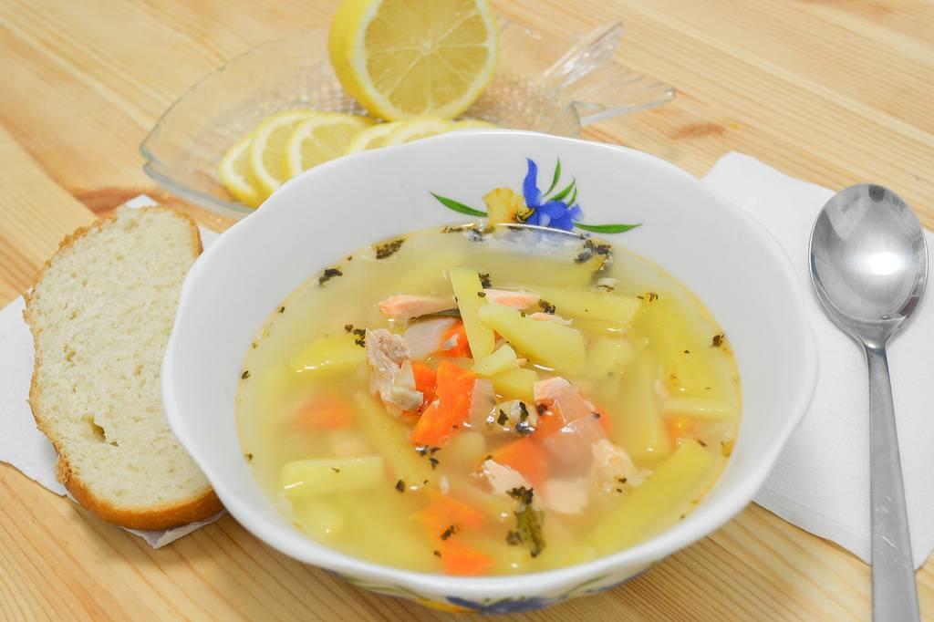 Суп рыбный для ребенка 1 год