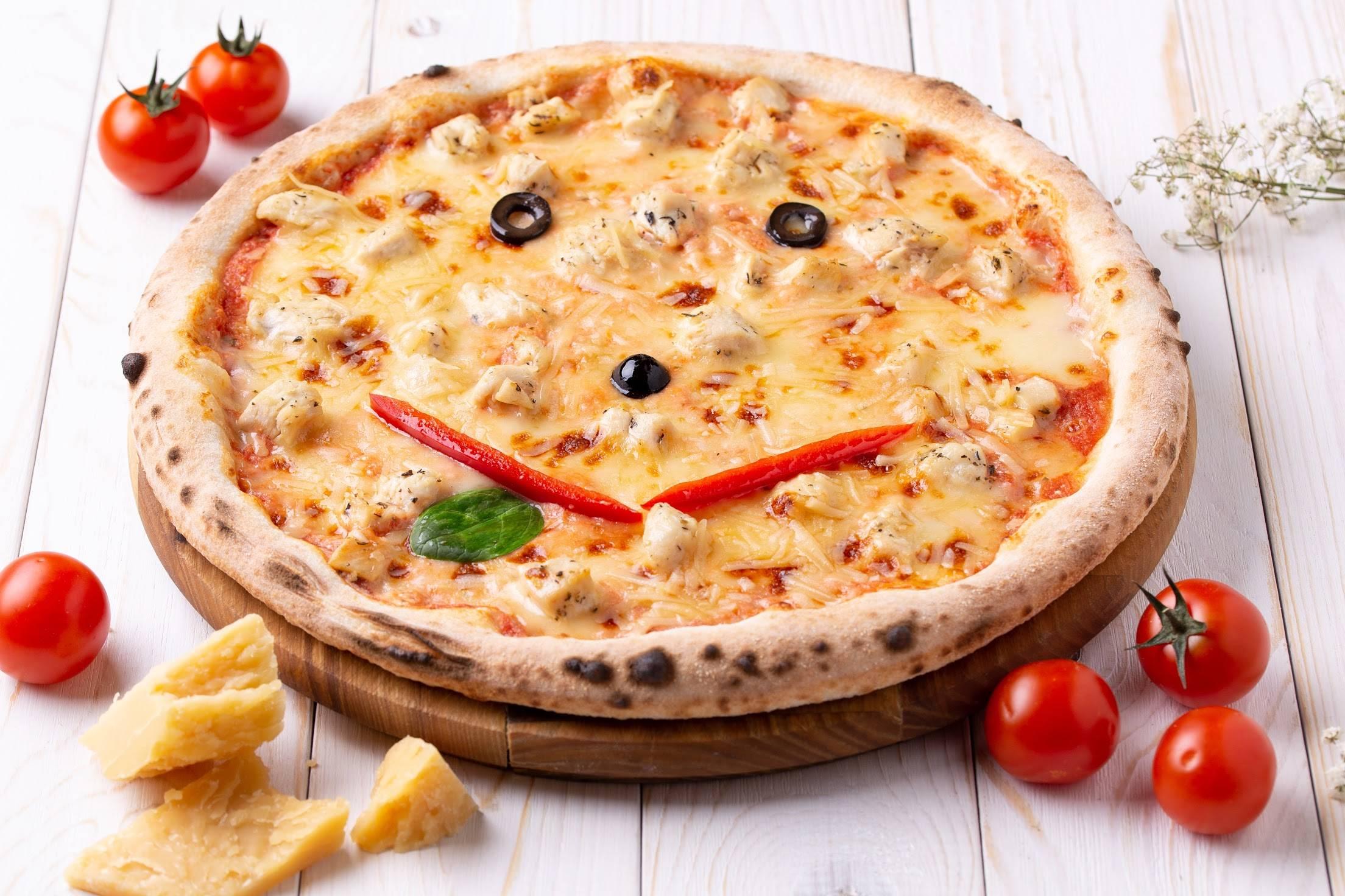 Пицца детская - рецепт для детей (мини-пицца в домашних условиях)
