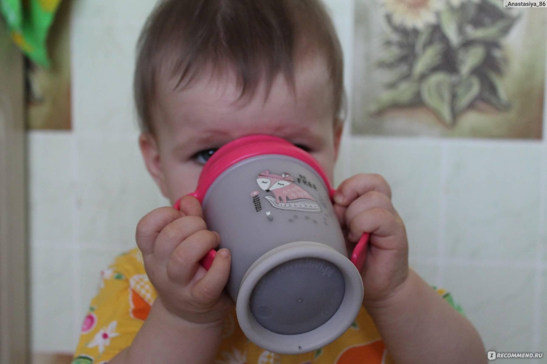 Как научить ребенка пить из поильника: особенности моделей и способов научения