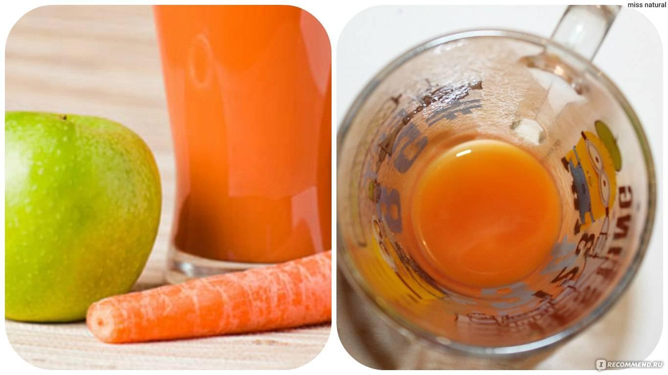 Когда можно давать морковный сок грудничку