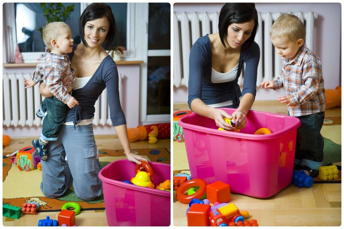 Как приучить ребенка убирать за собой игрушки: методы, которые точно работают