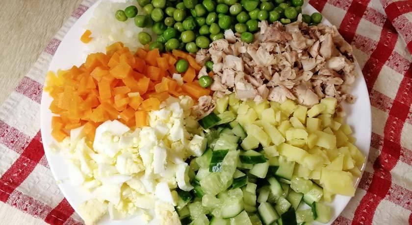Салаты для кормящих мам. рецепты при гв