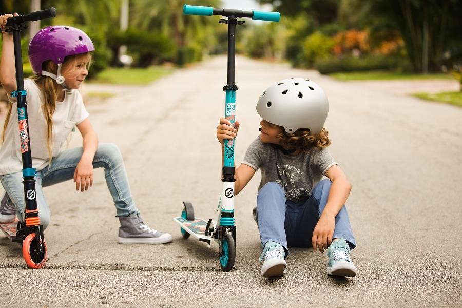 Как научить ребенка кататься на скейтборде