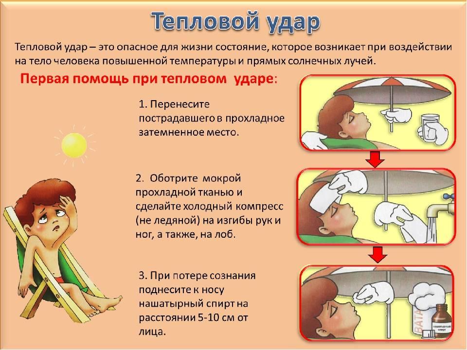 Коварный солнечный удар у детей: симптомы и первая помощь - все о загаре и средствах для загара
