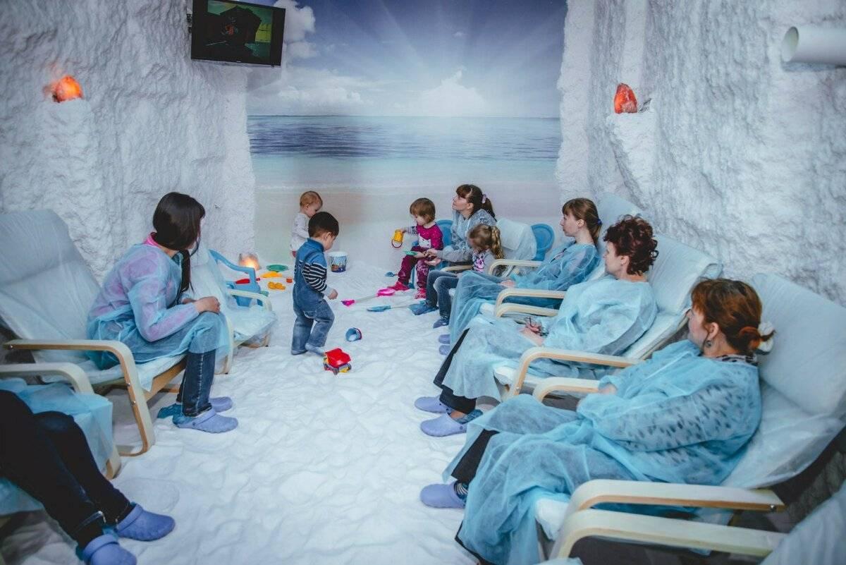 Соляная пещера: показания и противопоказания для детей